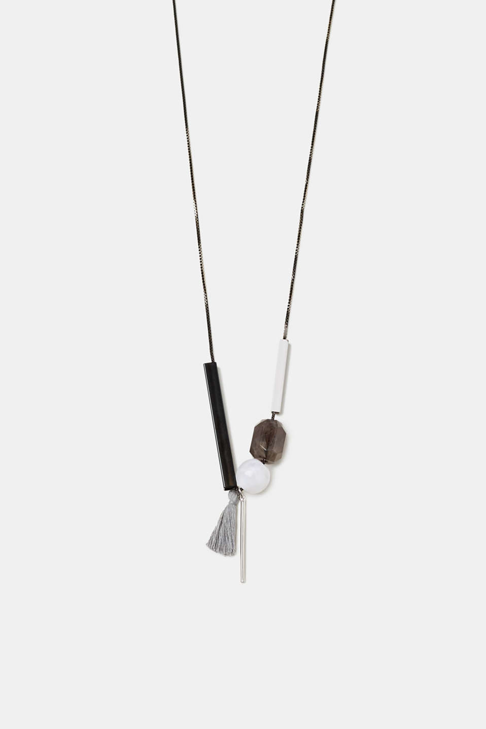 Esprit - Long necklace with a variety of pendants