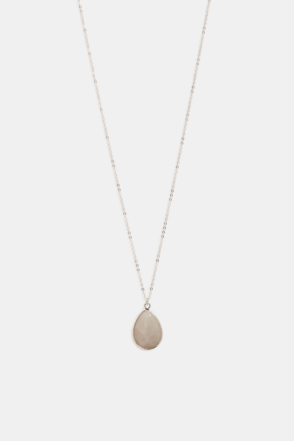 Esprit - Necklace with a facet-cut stone pendant