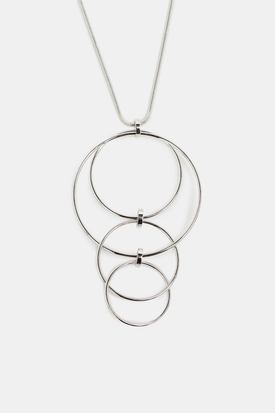 Esprit - Long necklace with a ring pendant