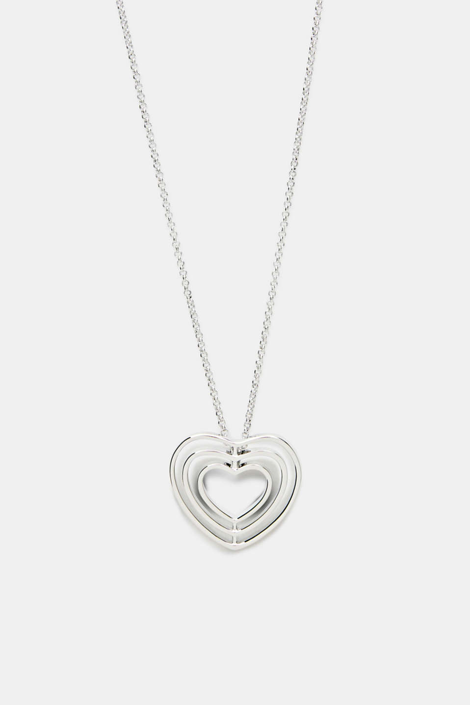 Esprit - Long necklace with a heart pendant