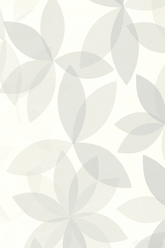 Non-woven wallpaper with a floral pattern, ONE COLOUR, detail image number 1