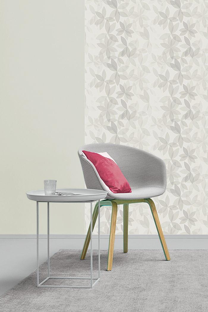 Vliestapete mit floralem Muster, ONE COLOUR, detail image number 2