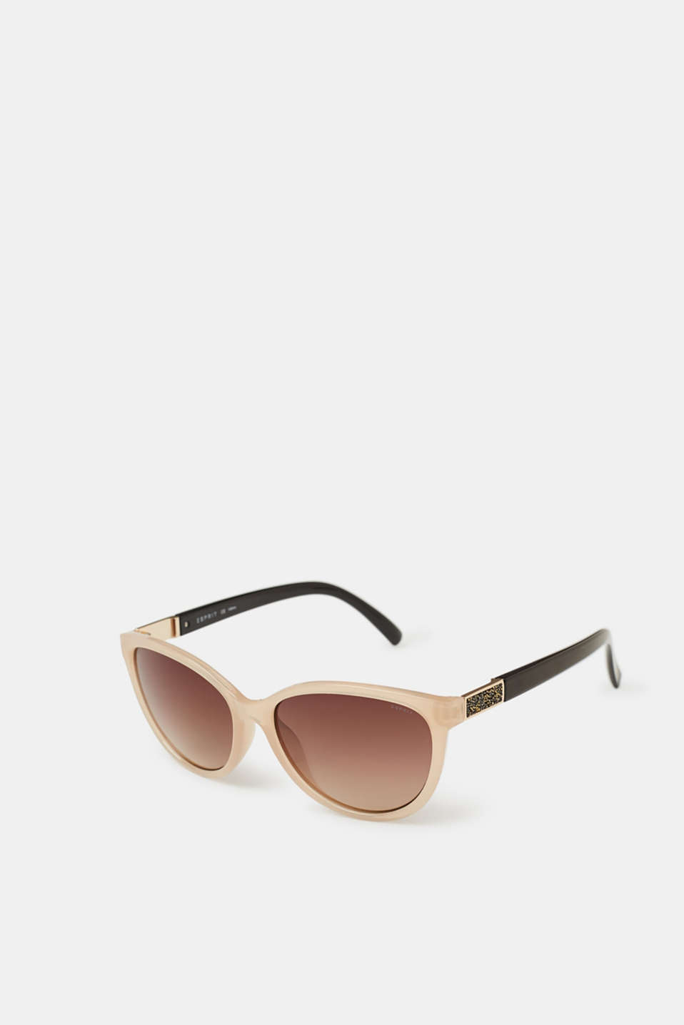 Esprit - Sunglasses with glittery elements