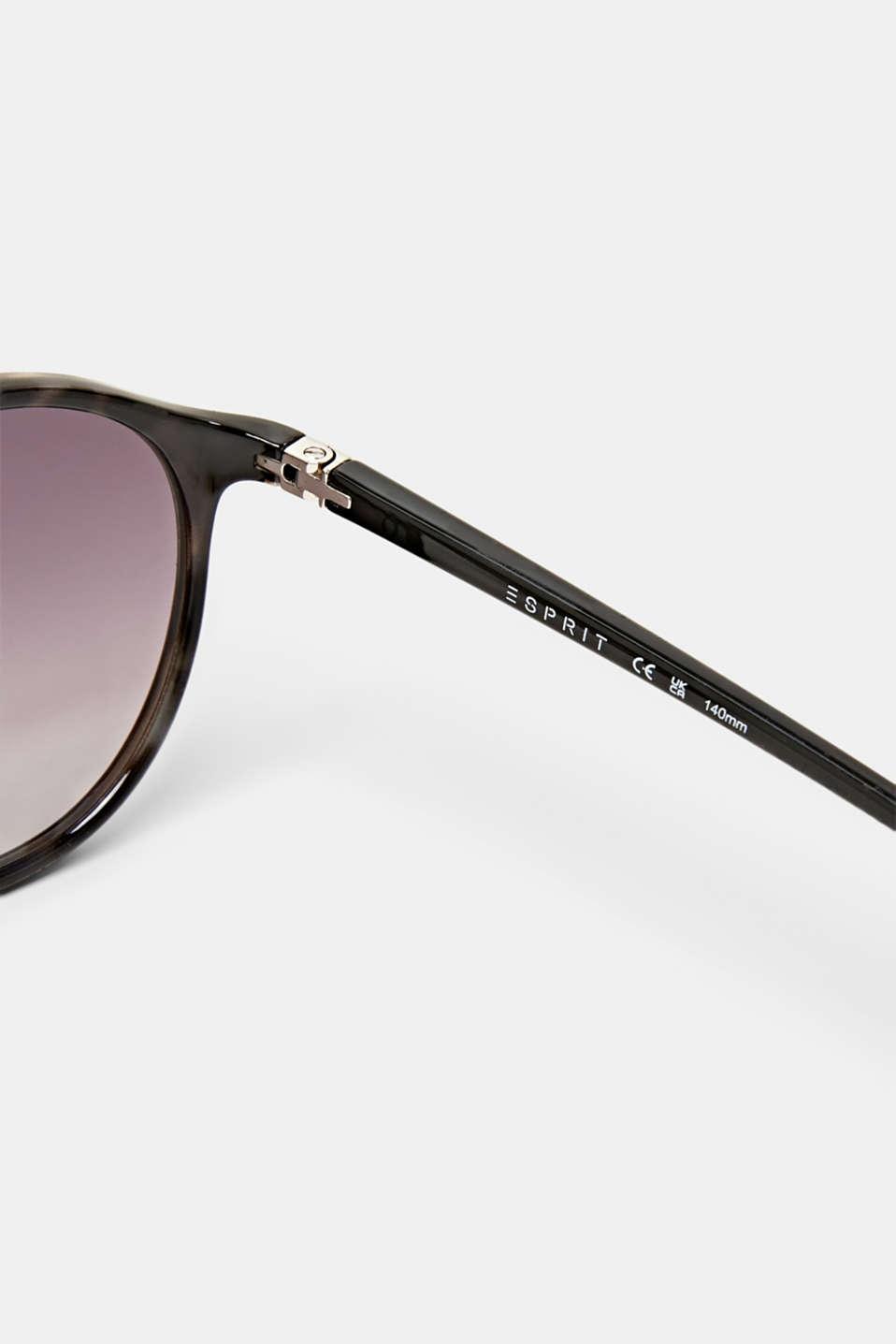 Unisex vintage sunglasses, GREY, detail image number 3