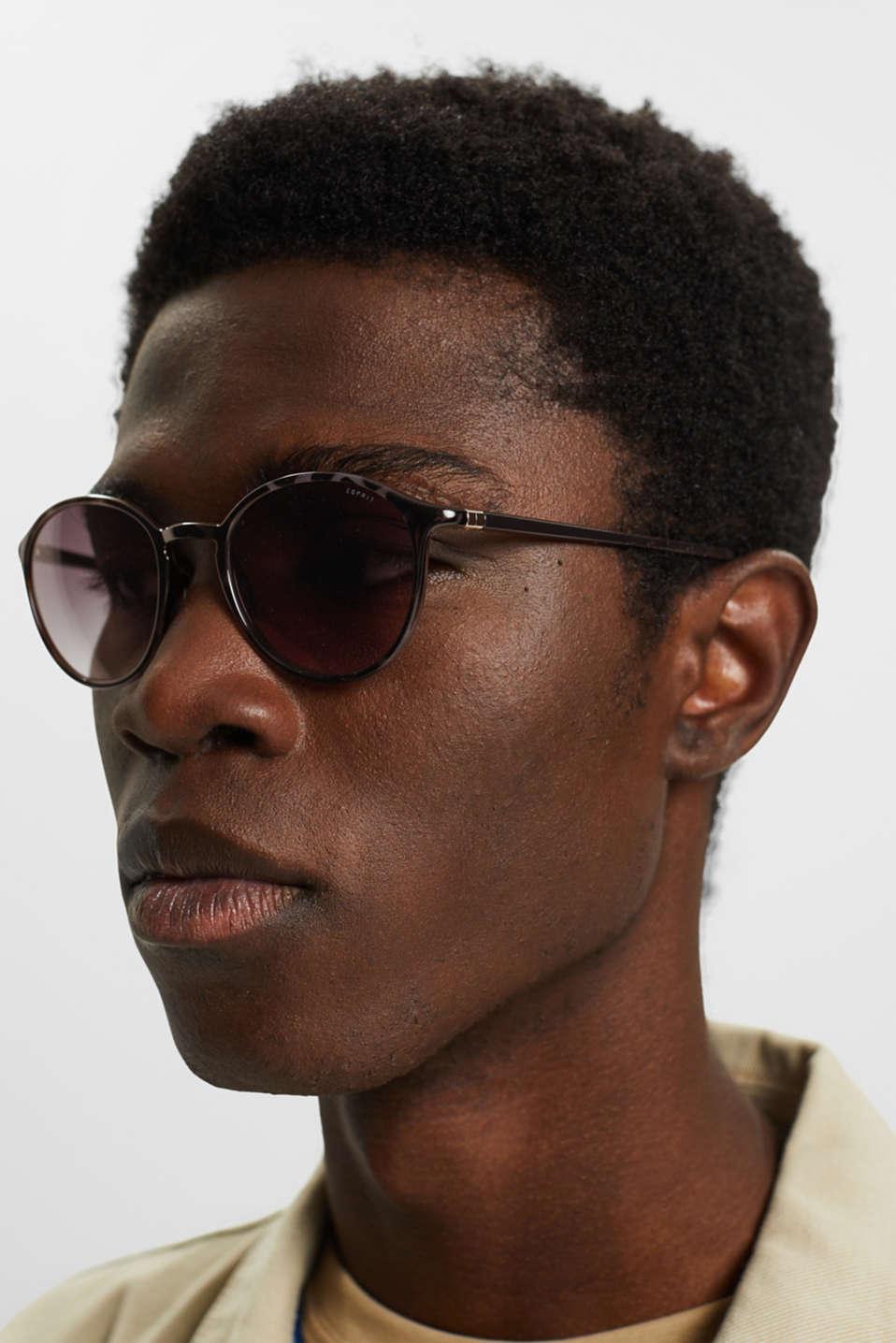 Unisex vintage sunglasses, GREY, detail image number 2