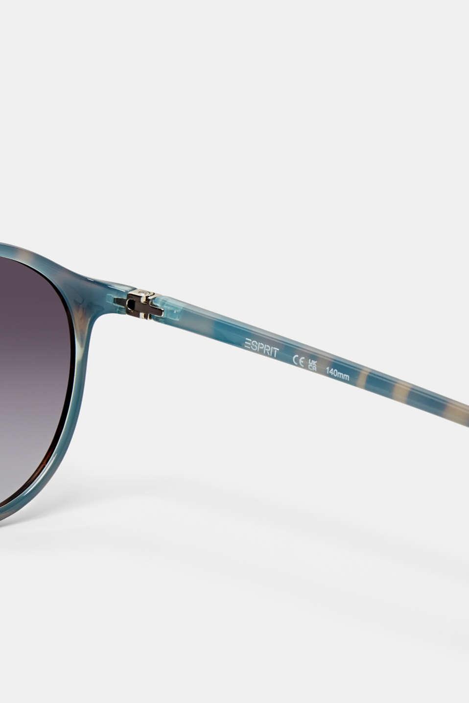 Unisex vintage sunglasses, DEMI BLUE, detail image number 3