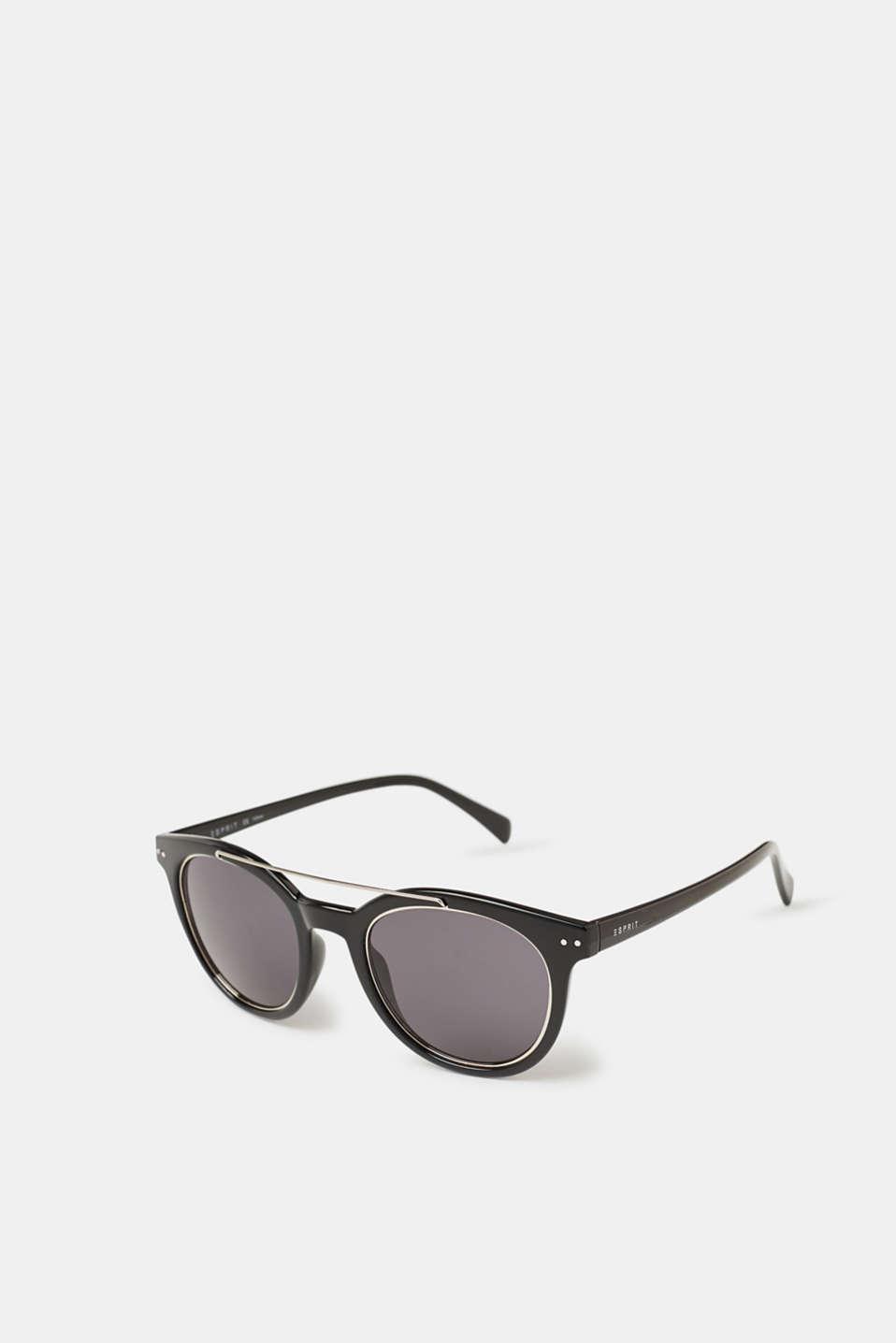 Unisex vintage sunglasses, BLACK, detail image number 0