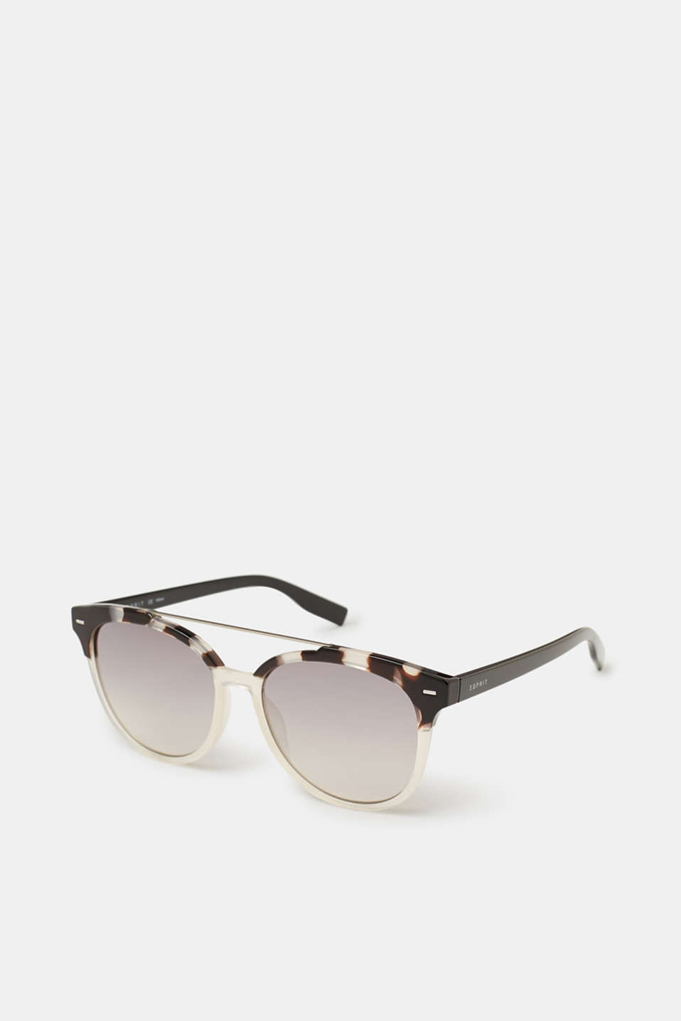 Sunglasses with metal details, DEMI SILVER, detail image number 0