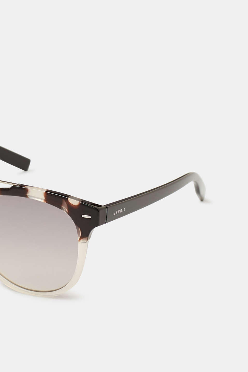 Sunglasses with metal details, DEMI SILVER, detail image number 1