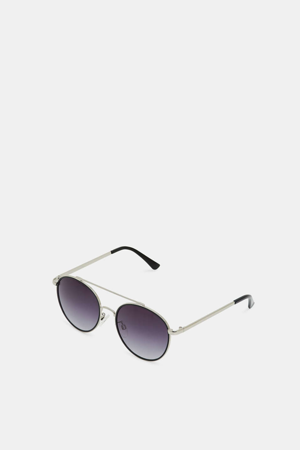 Sunglasses with metal frames, BLACK, detail image number 0