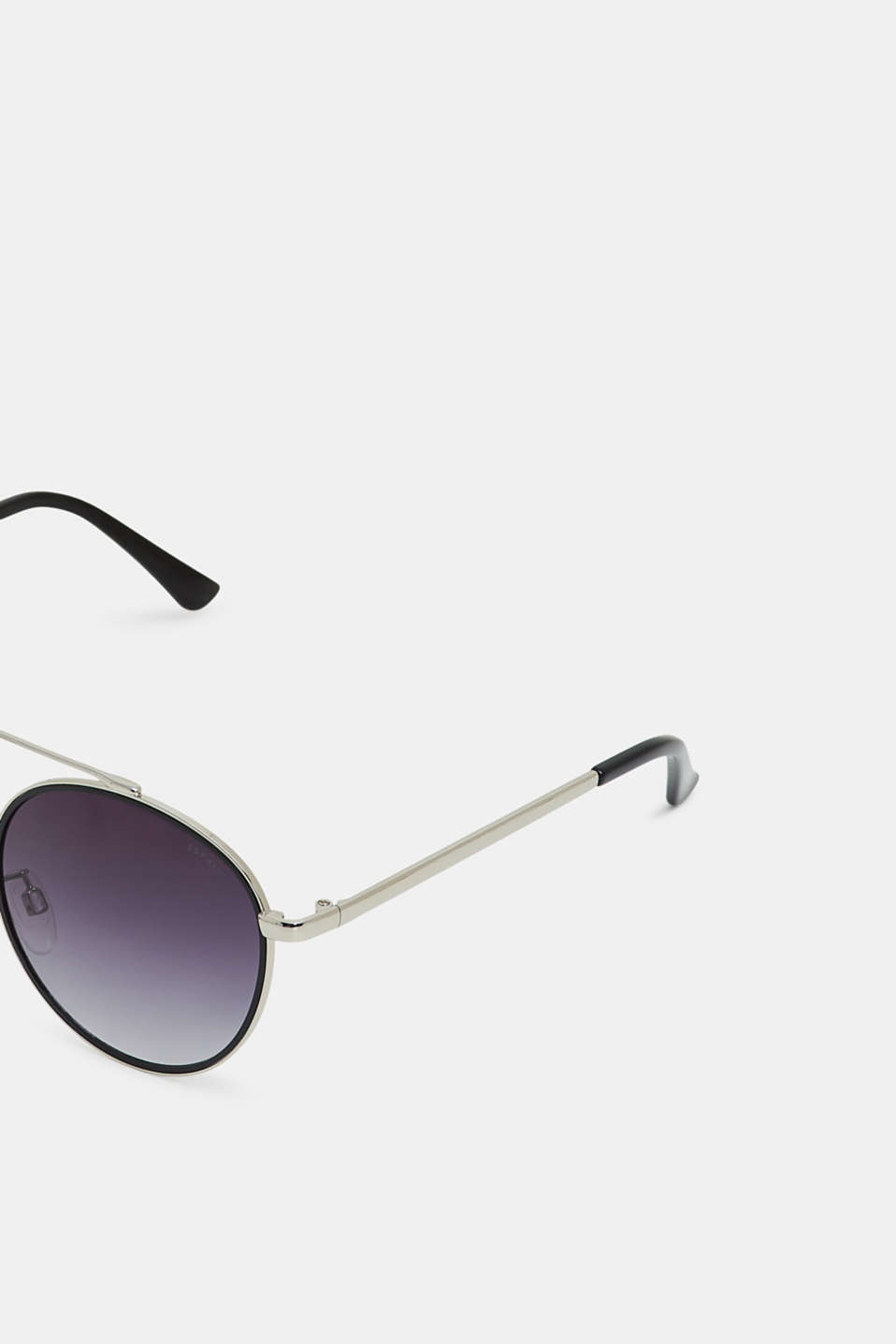 Sunglasses with metal frames, BLACK, detail image number 1