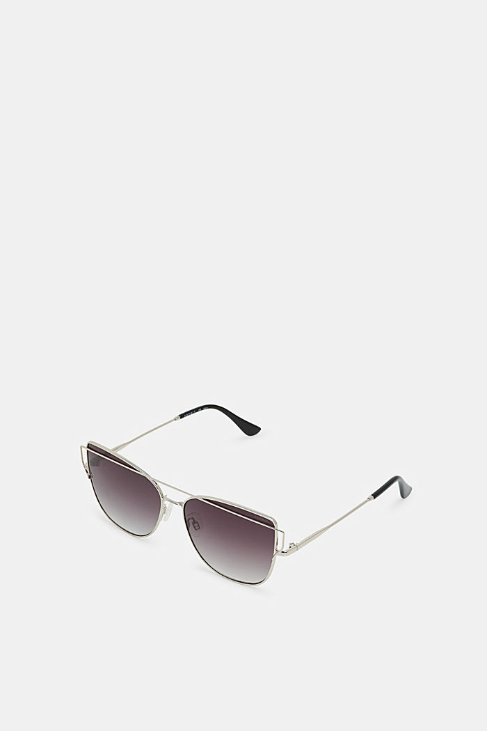 Sunglasses with metal frames, SILVER, detail image number 0