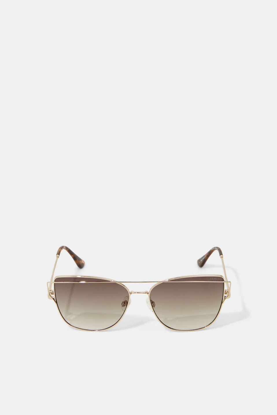 Sunglasses with metal frames, GOLD, detail image number 0
