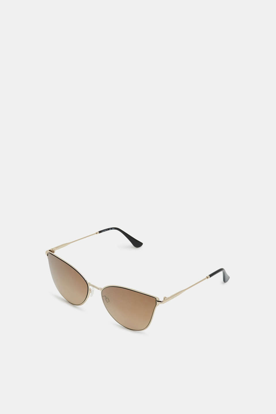 Sunglasses with mirrored lenses, GOLD, detail image number 0
