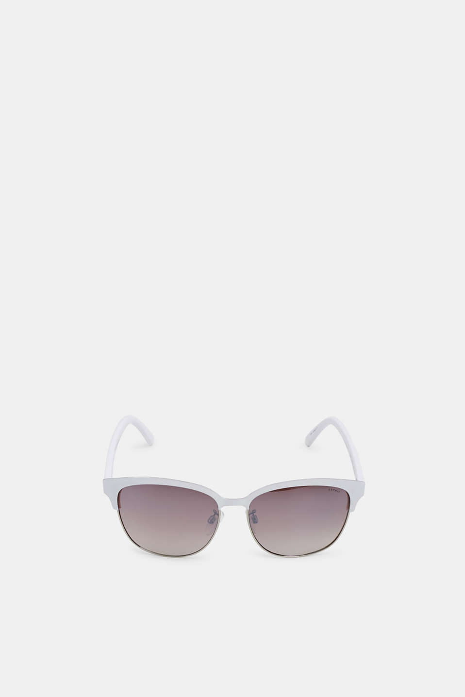 Sunglasses with a vintage look, WHITE, detail image number 1