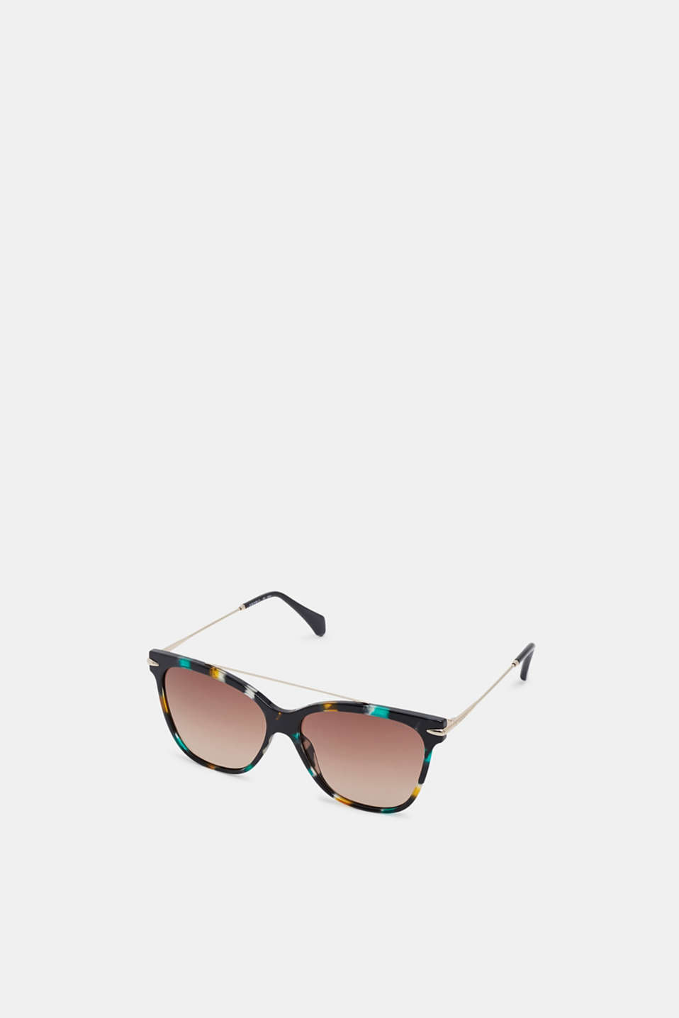 Wire temple sunglasses, PEACH, detail image number 0