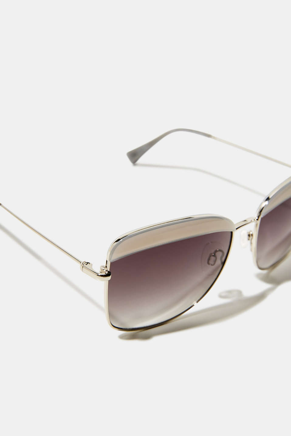 Sunglasses with a leopard accent, LCGRAY, detail image number 1