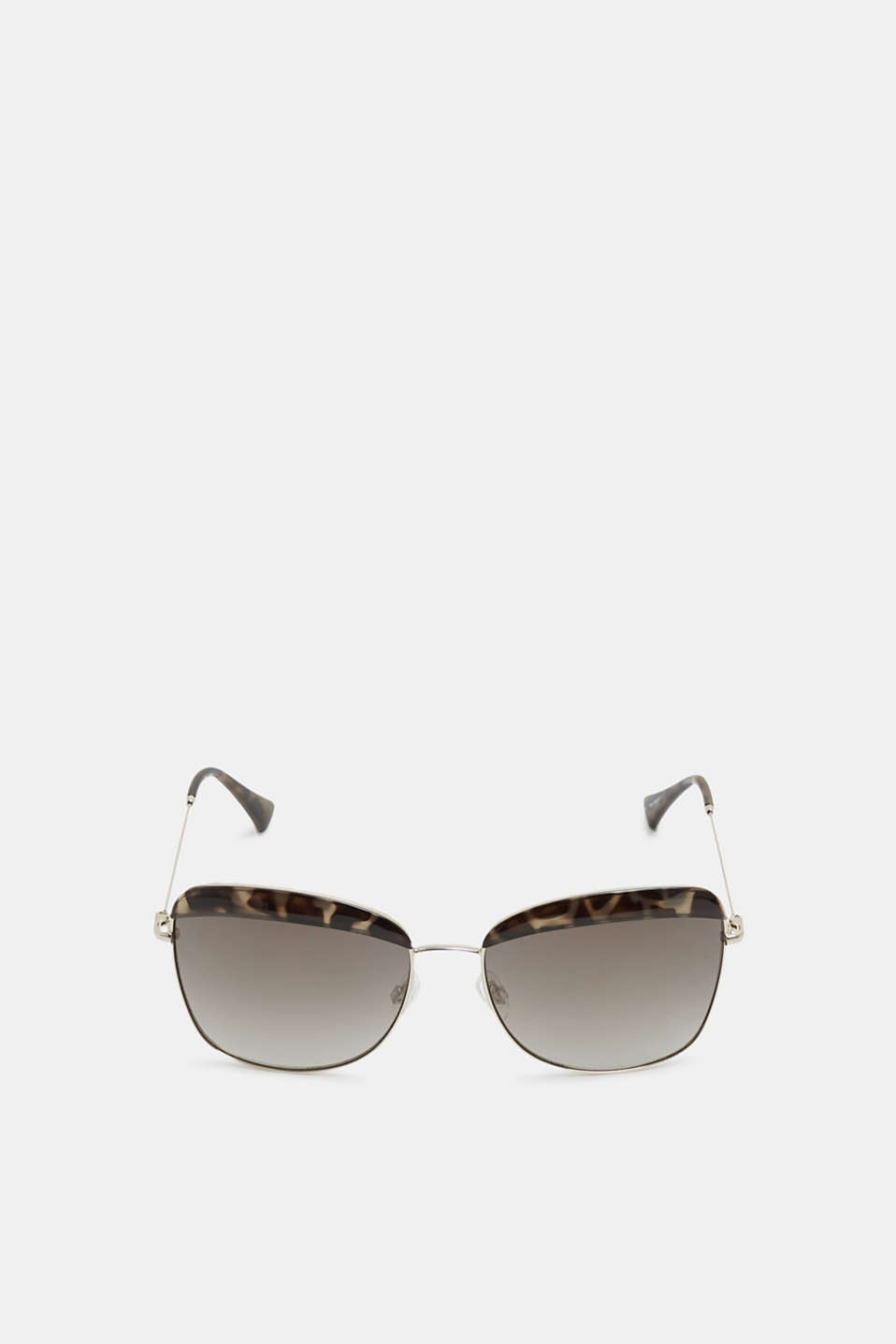 Esprit - Sunglasses with a leopard accent