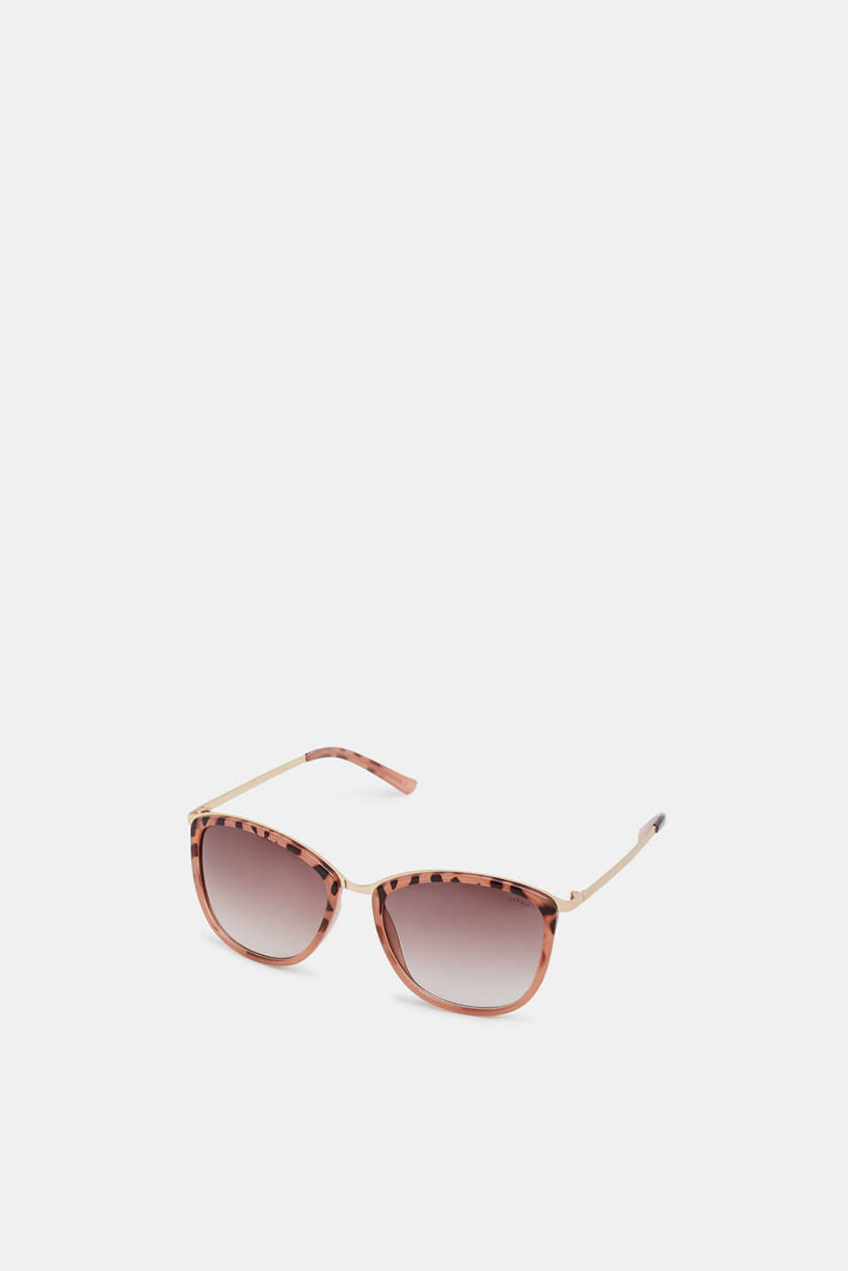 Sunglasses with metal temples, ROSE, detail image number 0