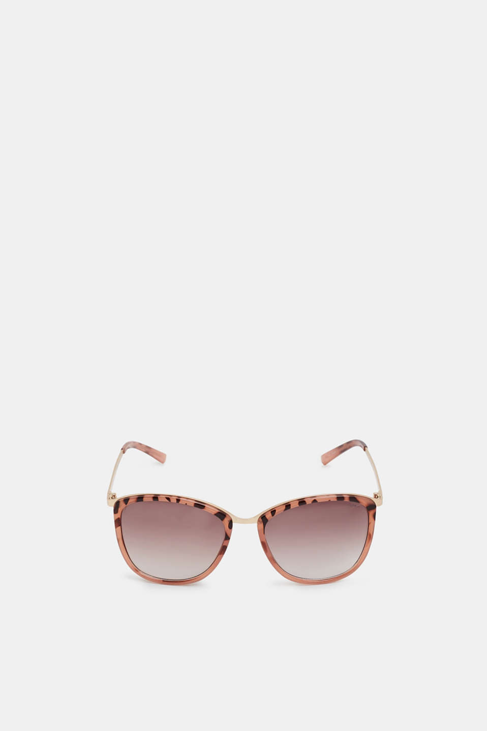 Sunglasses with metal temples, ROSE, detail image number 1