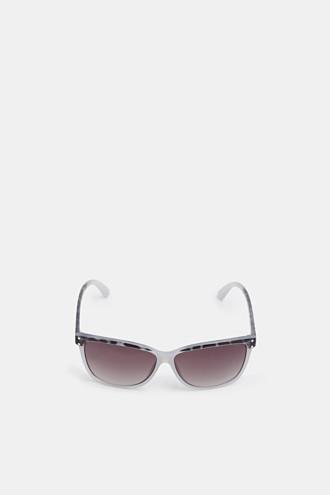 Pattern mix sunglasses