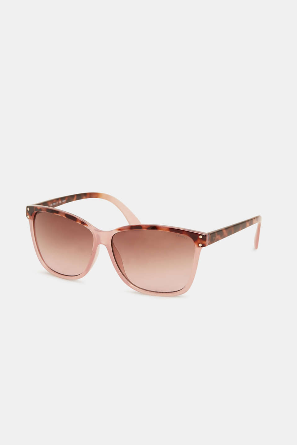 Pattern mix sunglasses, BROWN/BEIGE, detail image number 0