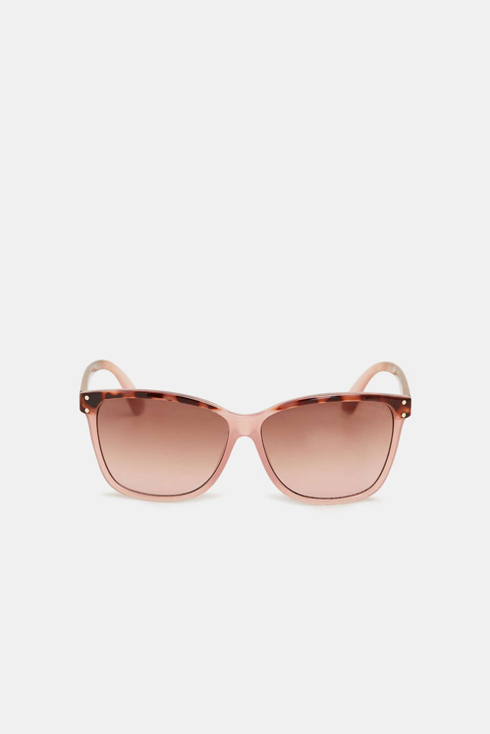 Pattern mix sunglasses, BROWN/BEIGE, detail image number 1