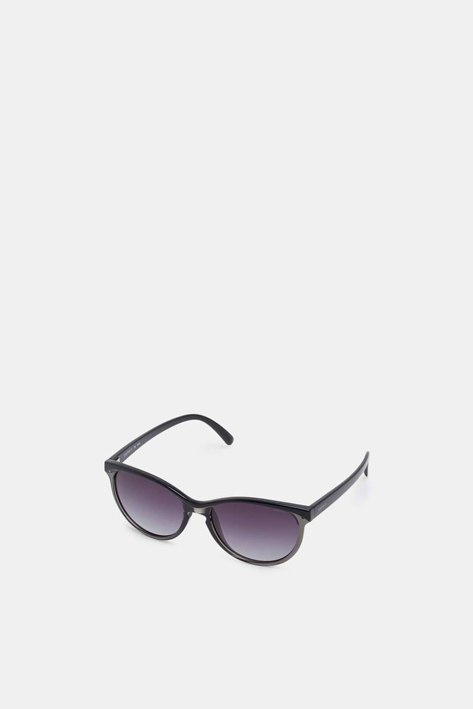 Sunglasses in a two-tone look, BLACK, detail image number 0