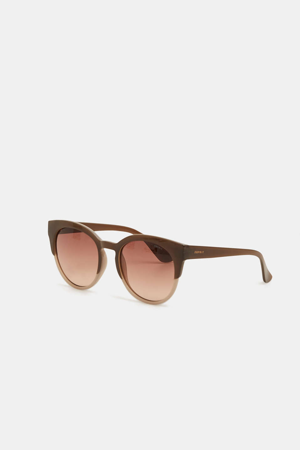 Esprit - Cat Eye-Sonnenbrille im 2-Tone-Look