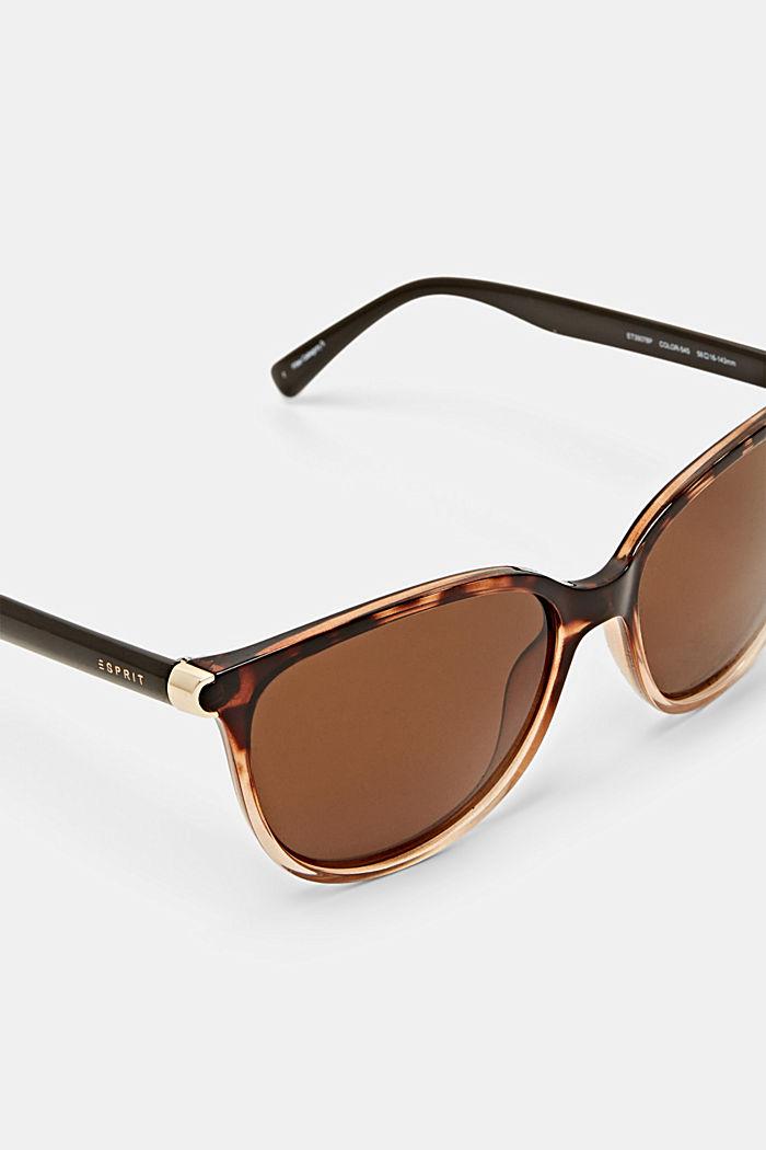Sonnenbrille mit polarisierten Gläsern, HAVANNA, detail image number 1
