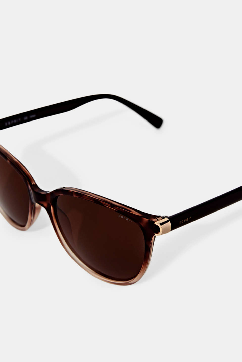 Sunglasses with polarised lenses, HAVANNA, detail image number 1