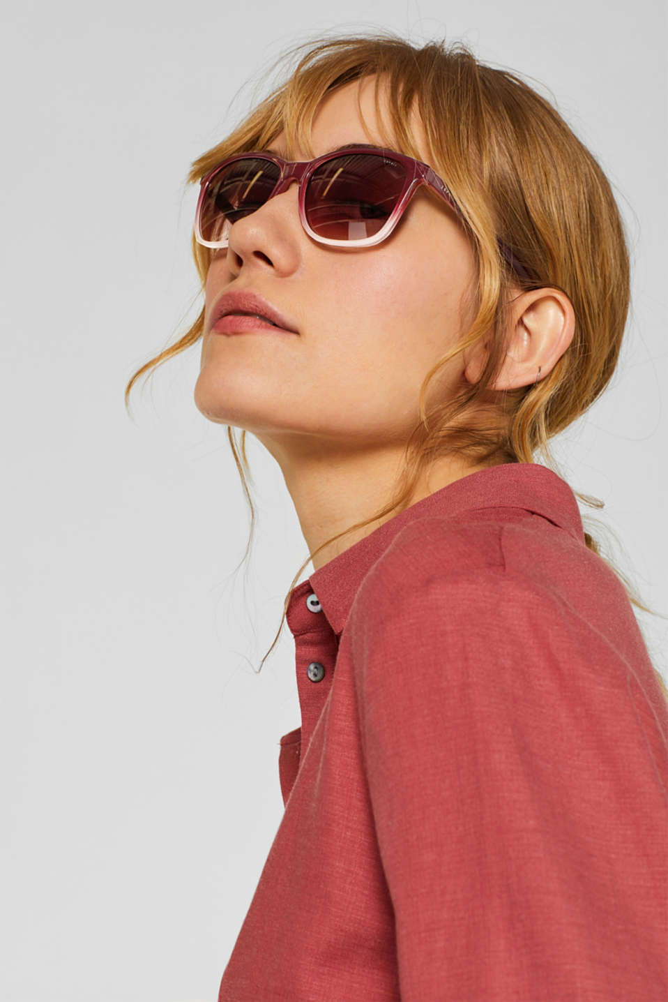 Sunglasses, RED, detail image number 2