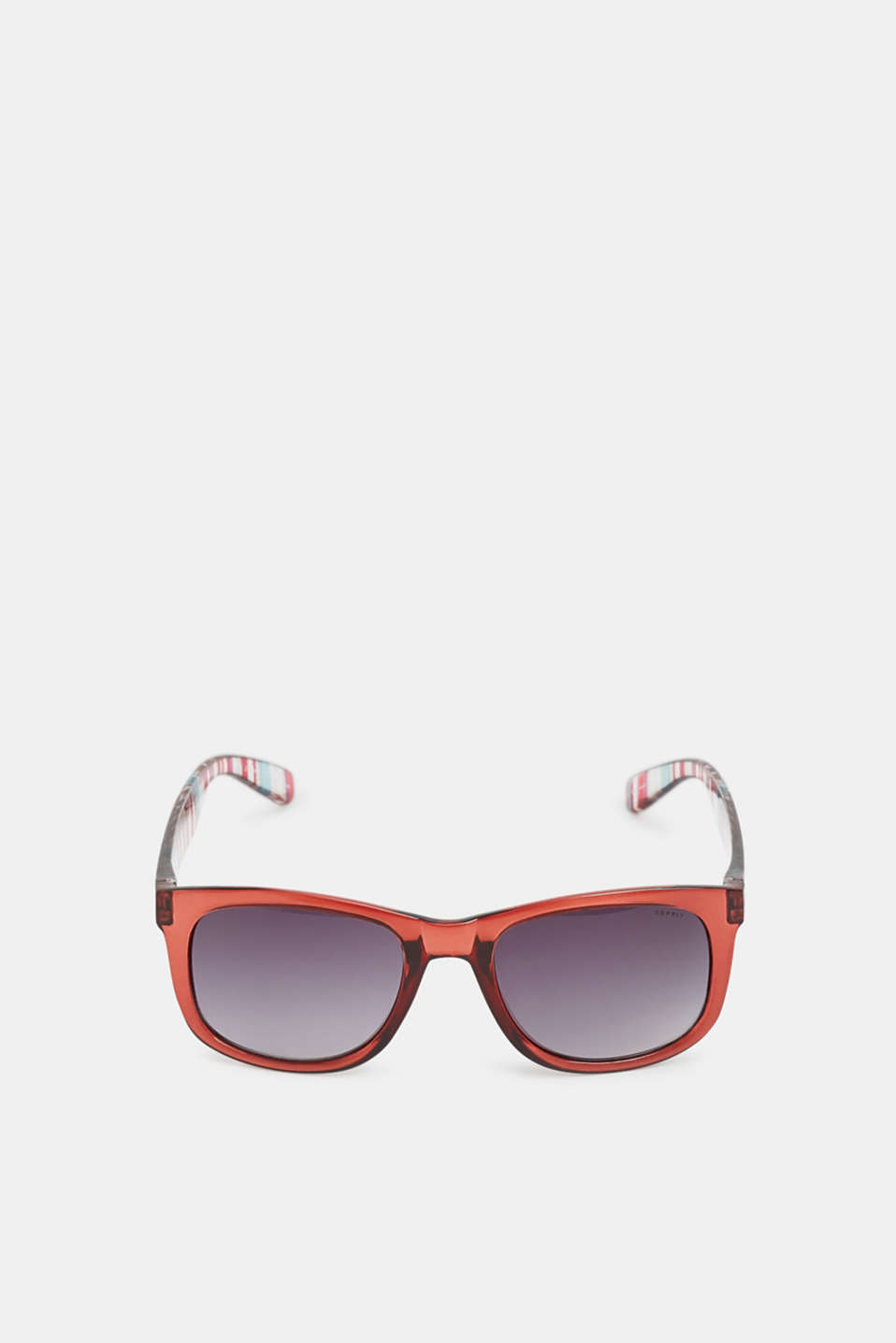 Esprit - Sunglasses with vibrant, striped temples