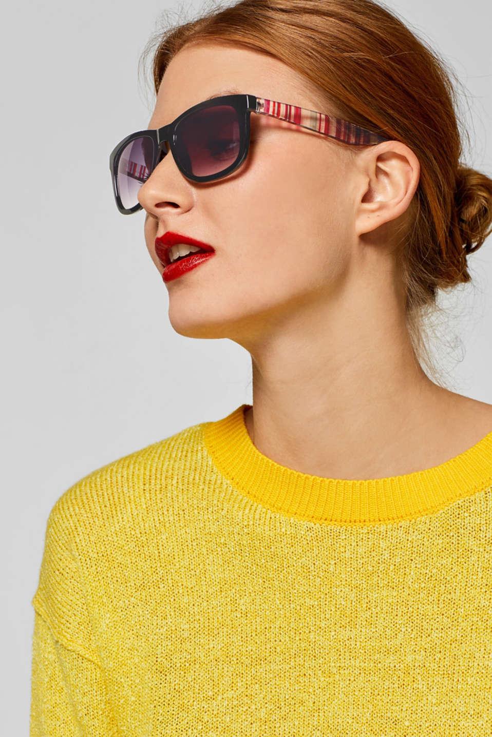 Sunglasses, BLACK, detail image number 2