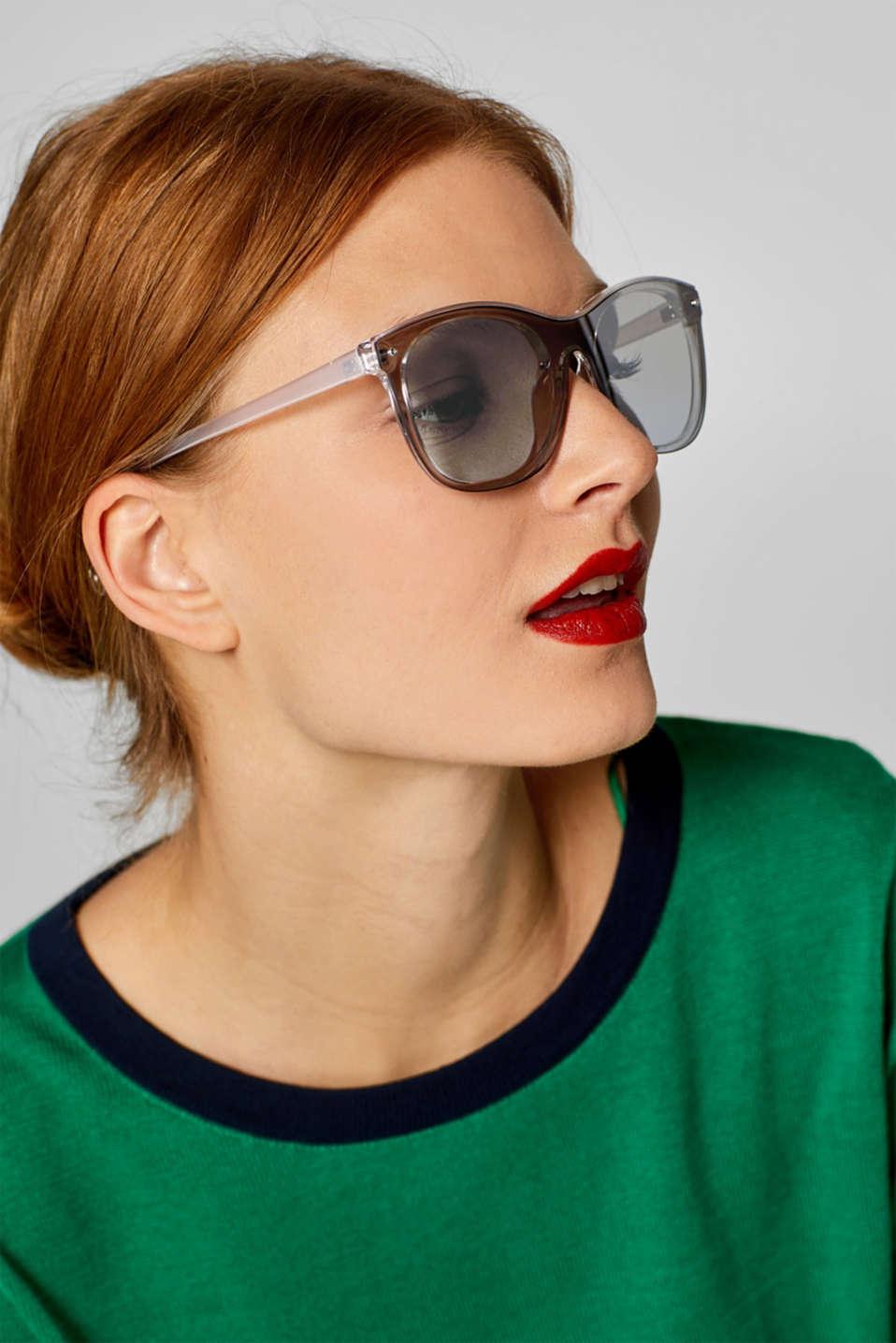 Sunglasses, GREY, detail image number 2
