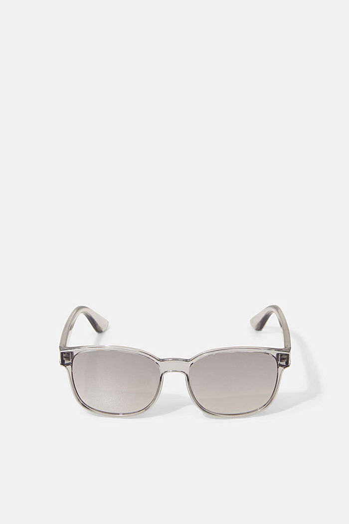 Unisex sunglasses with mirrored lenses, GREY, detail image number 0