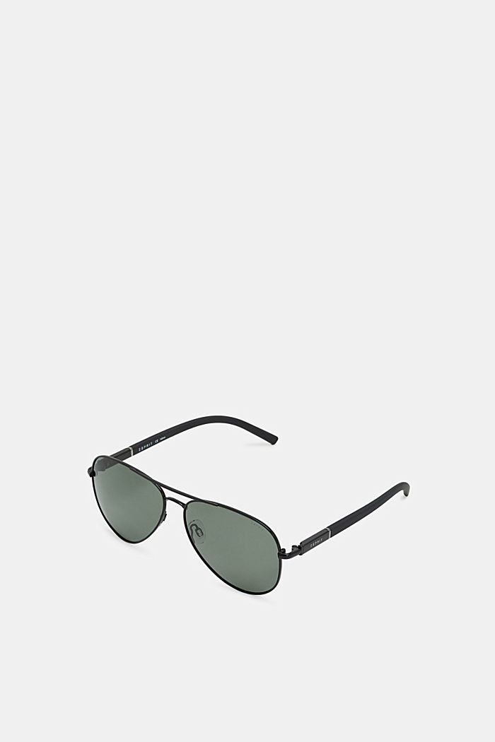 Sunglasses with polarised lenses, BLACK, detail image number 0