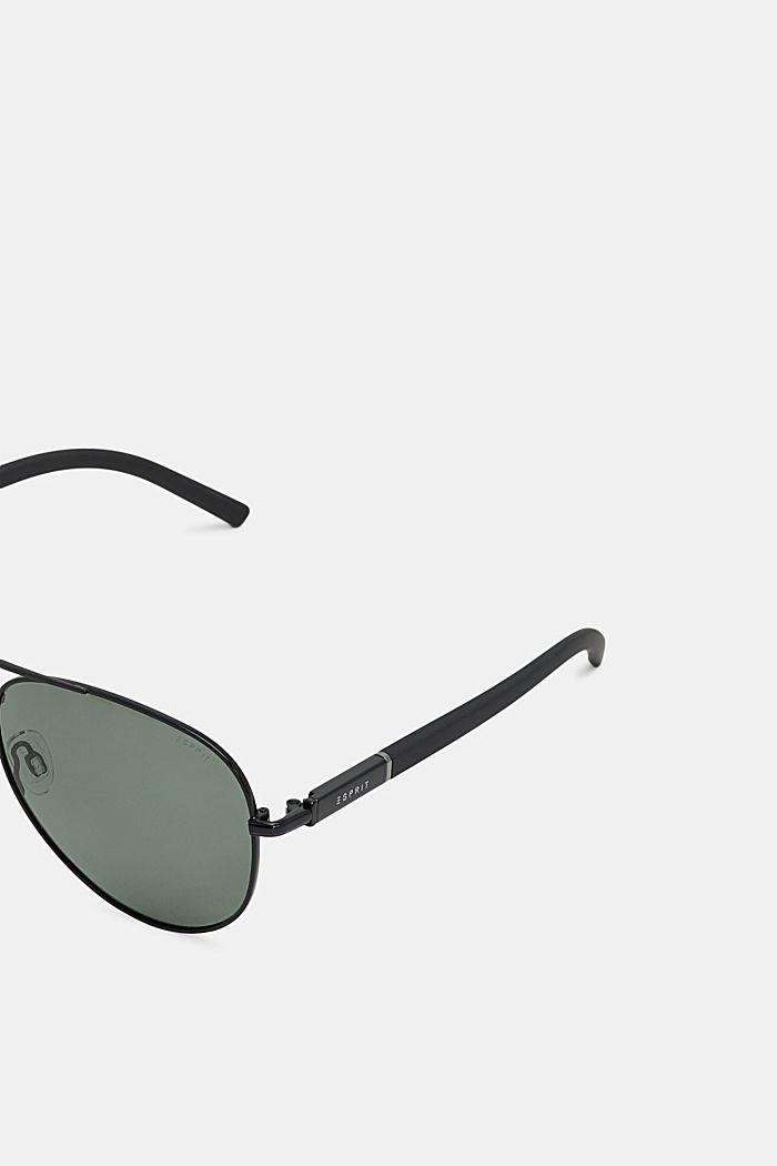 Sunglasses with polarised lenses, BLACK, detail image number 1