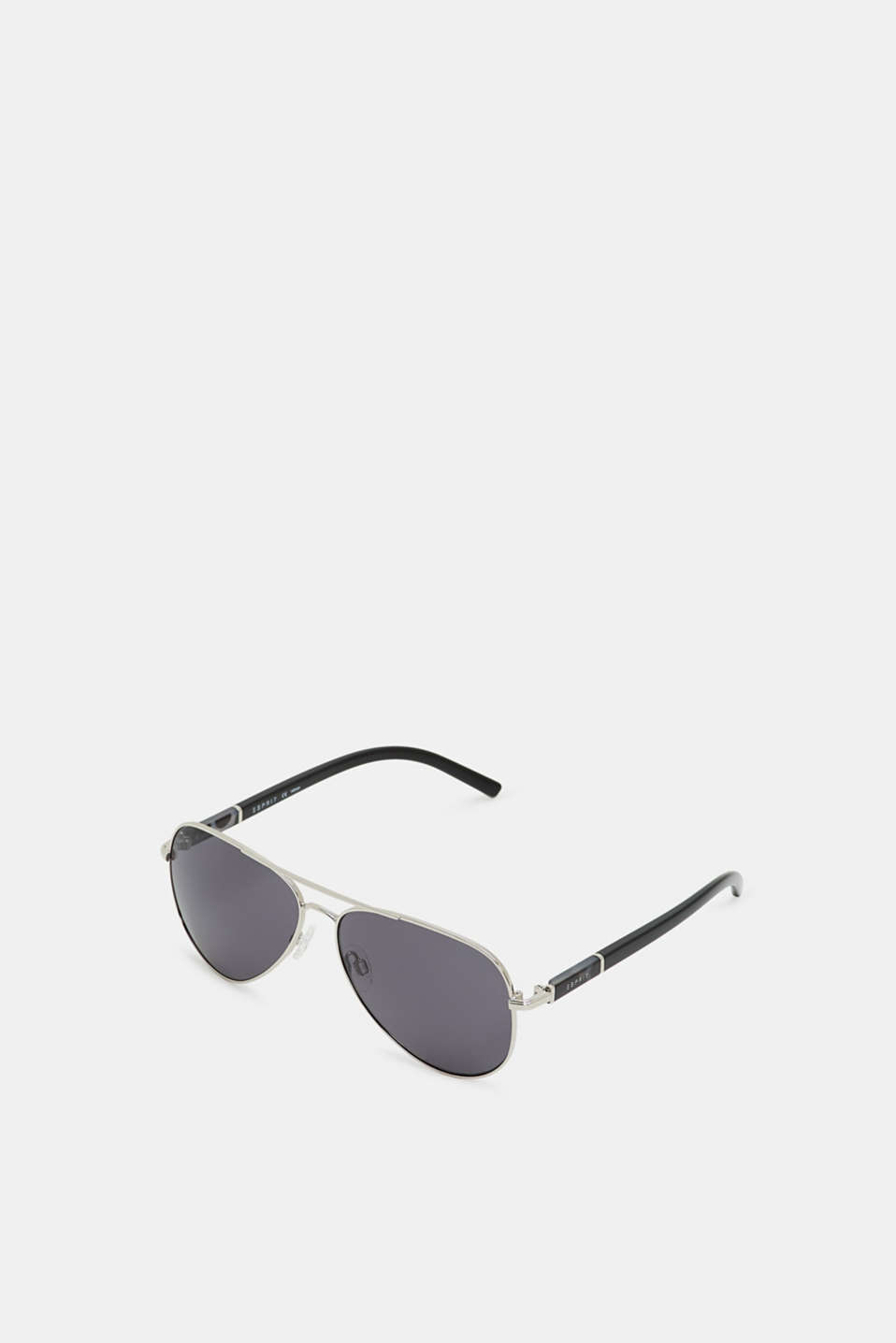 Aviator-style sunglasses, SILVER, detail image number 0
