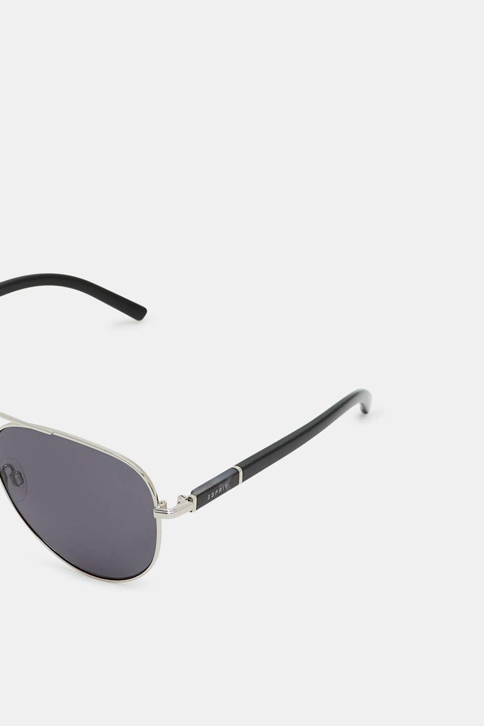 Aviator-style sunglasses, SILVER, detail image number 1