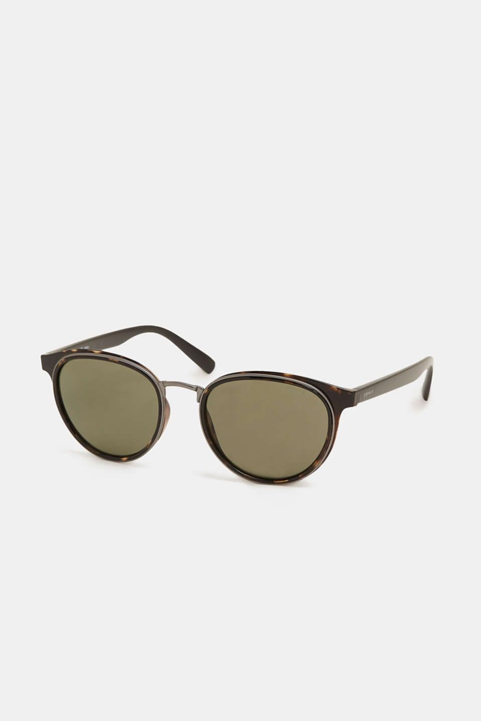 Sunglasses with vintage charm, BROWN, detail image number 0