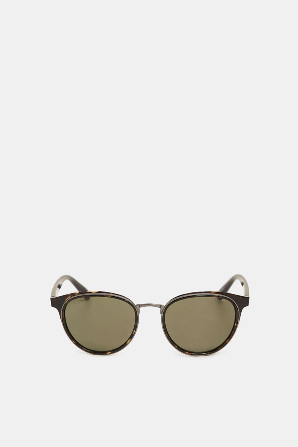 Sunglasses with vintage charm, BROWN, detail image number 1