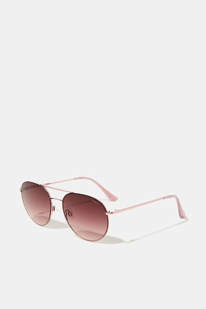 Sunglasses with metal frame, ROSE, detail image number 0