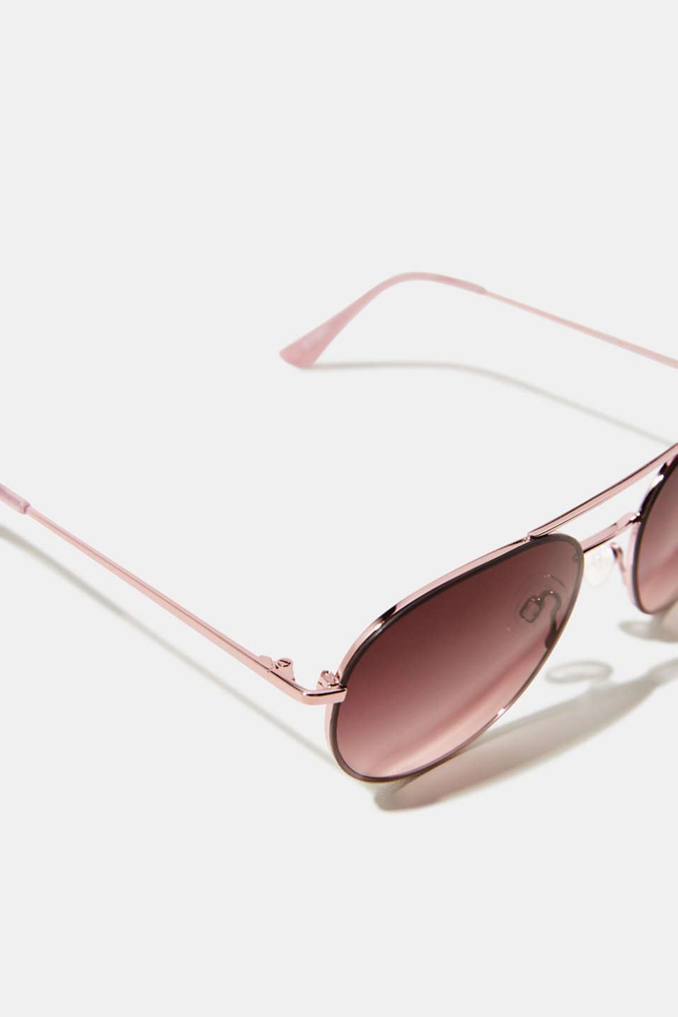Sunglasses with metal frame, ROSE, detail image number 1