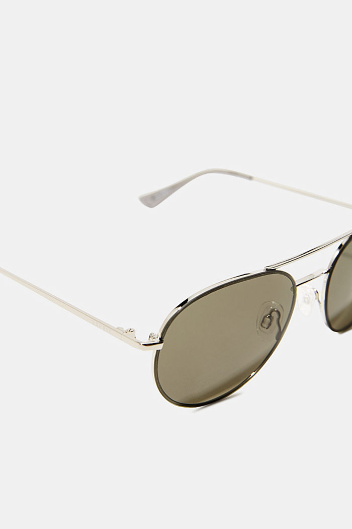 Sunglasses with metal frame, GREEN, detail image number 1