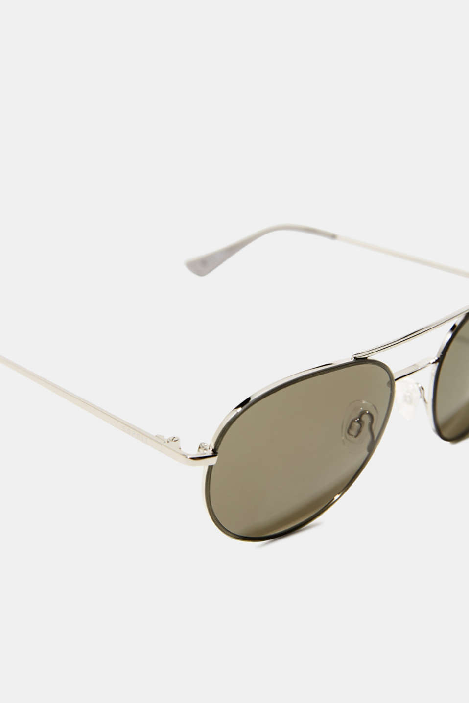 Sunglasses with metal frame, LCGREEN, detail image number 1