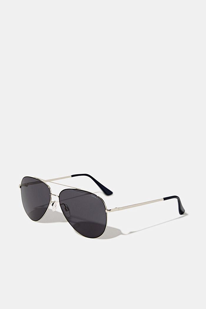 Unisex-Sonnenbrille mit Metallrahmen, LCGRAY, detail image number 0