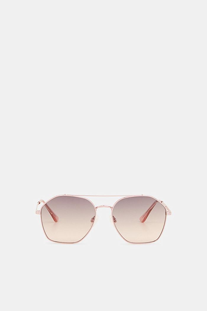 Sonnenbrille mit Metallrahmen, ROSE, detail image number 0