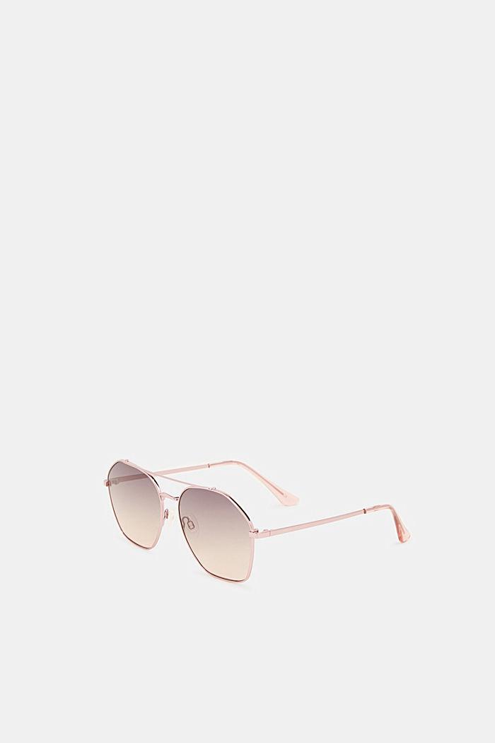 Sonnenbrille mit Metallrahmen, ROSE, detail image number 3