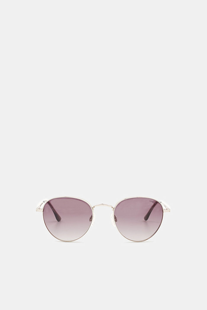Sunglasses with mirrored lenses, GREY, detail image number 0